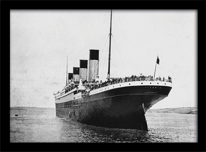 Framed poster Titanic (3)