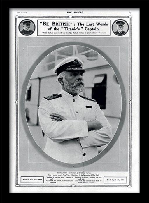 Framed poster Titanic (5)