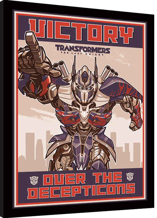 Transformers The Last Knight - Victory Framed poster