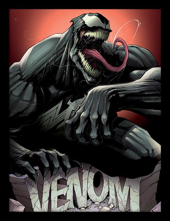 Framed poster Venom - Rock