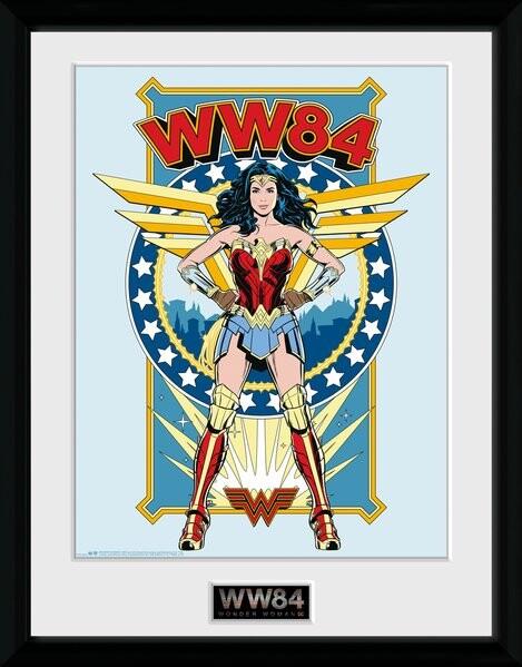 Framed poster Wonder Woman 1984 - Comic