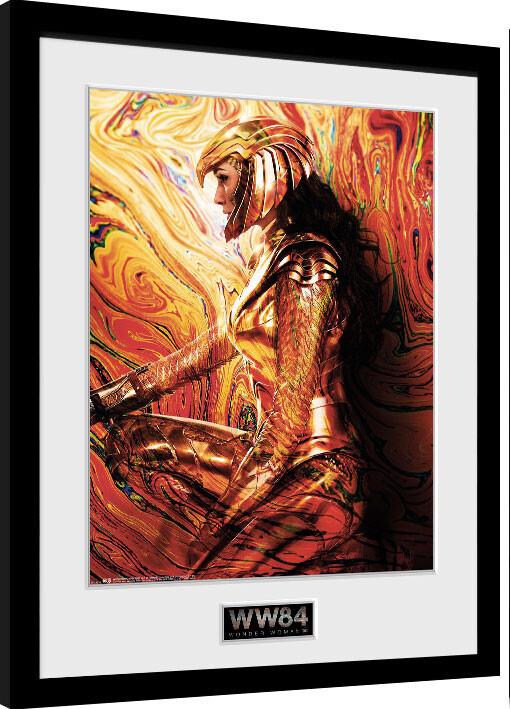 Framed poster Wonder Woman 1984 - One Sheet