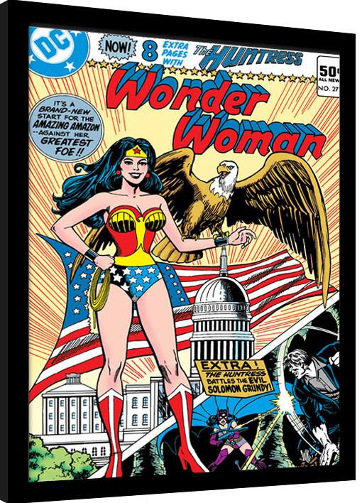 Framed poster Wonder Woman - Eagle