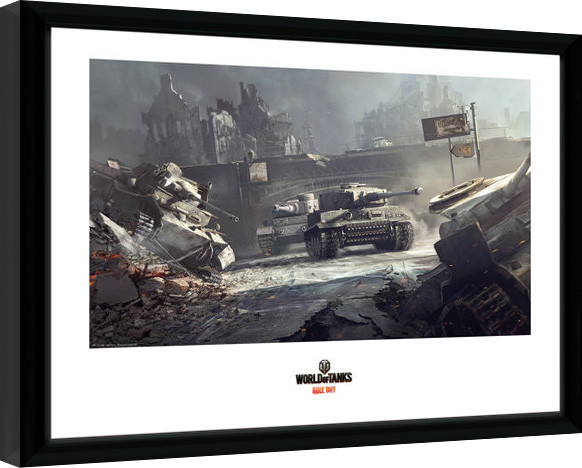 World of Tanks - German Tanks Framed poster