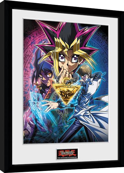 Yu Gi Oh - Dark Side of Dimension Key Art Framed poster