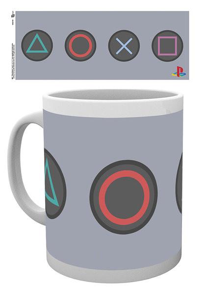 Mug Playstation - Buttons