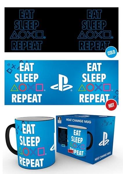 Cup Playstation - Eat Sleep Repeat