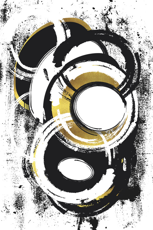 Art Print on Demand Abstract Painting No. 1