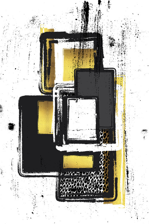 Art Print on Demand Abstract Painting No. 3