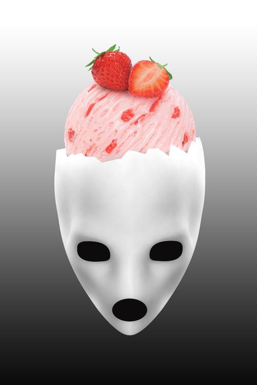 Art Print on Demand Alien Cream