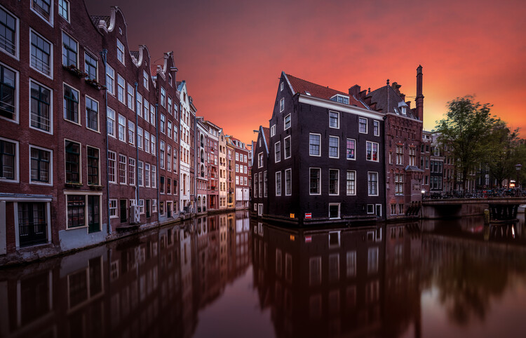 Art Print on Demand Amsterdam Dawn