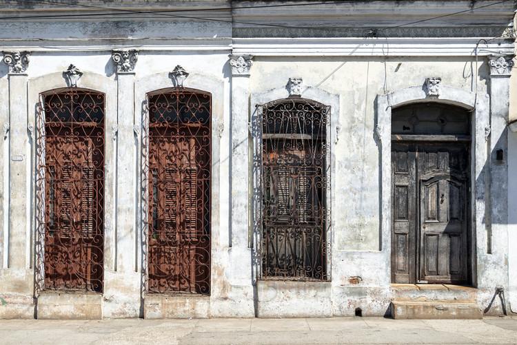 Art Print on Demand Beautiful Cuban Facade