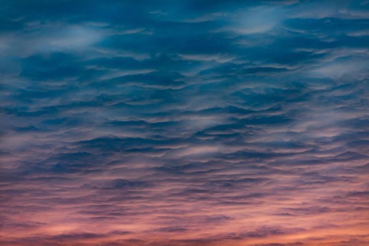 Art Print on Demand Beauty sunset clouds