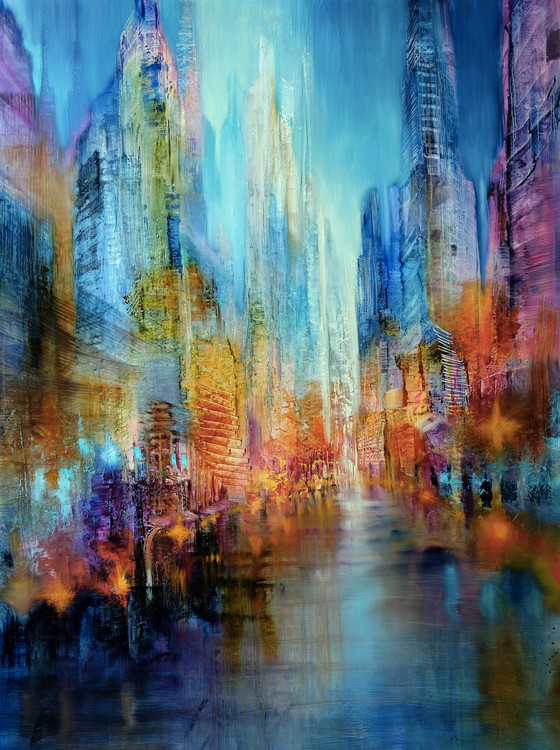 Art Print on Demand Big city