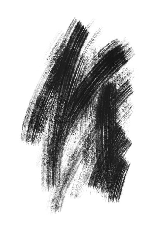 Art Print on Demand Black sketch