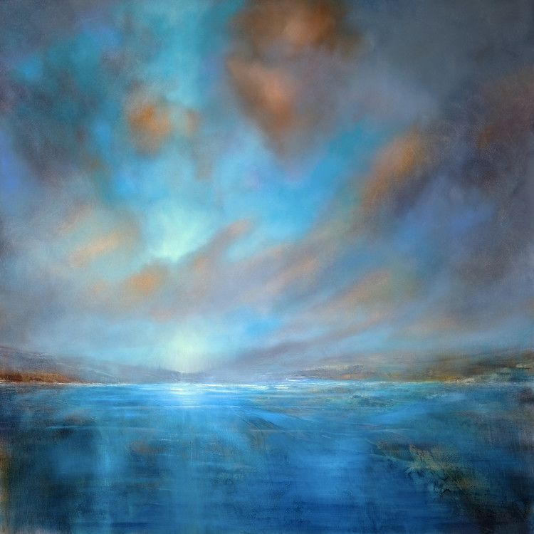 Art Print on Demand Blue wideness