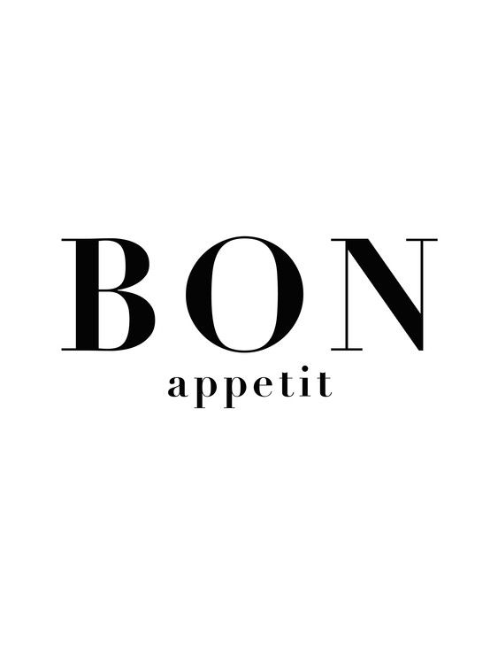 Art Print on Demand bon appetit 3