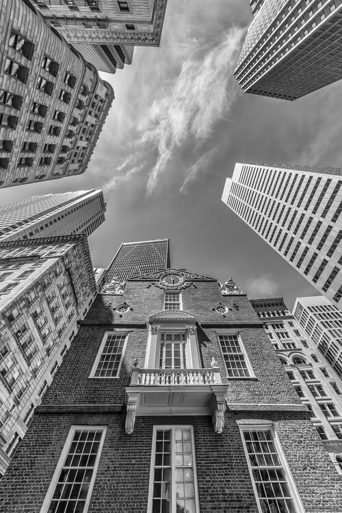 Art Print on Demand BOSTON Old State House