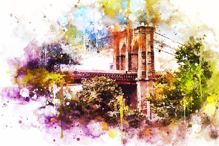Art Print on Demand Brooklyn Bridge