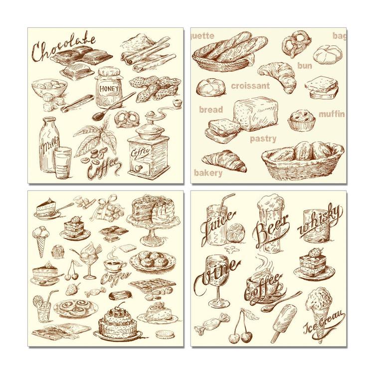 Art Print on Demand Café and Bakery