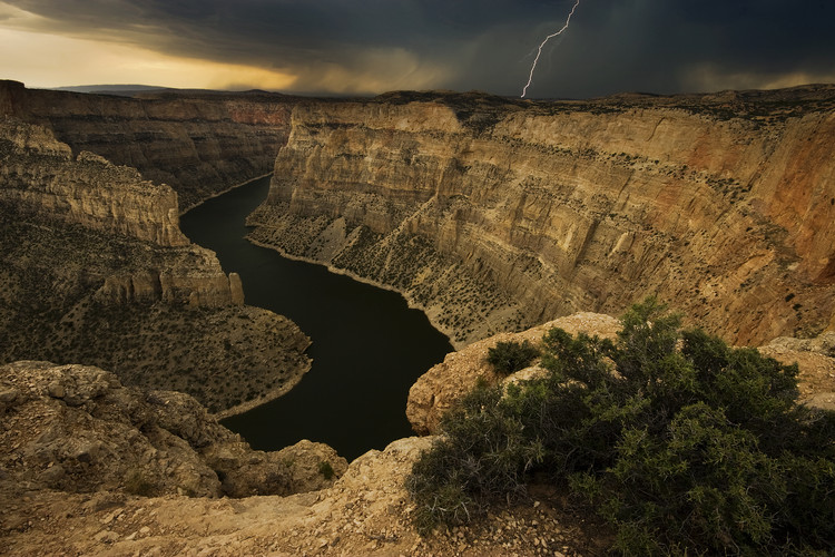 Art Print on Demand Canyon Storm