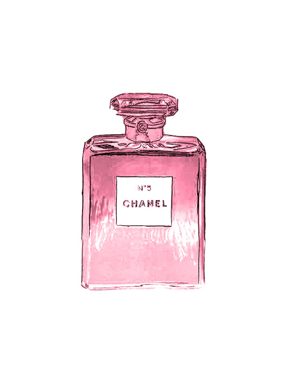 Art Print on Demand Chanel No.5