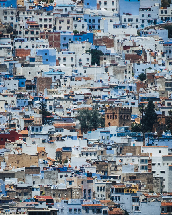 Art Print on Demand Chefchaouen