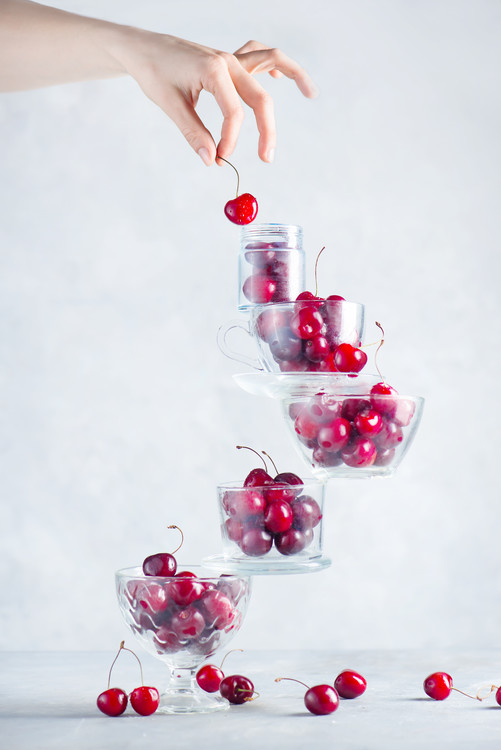 Art Print on Demand Cherry on top