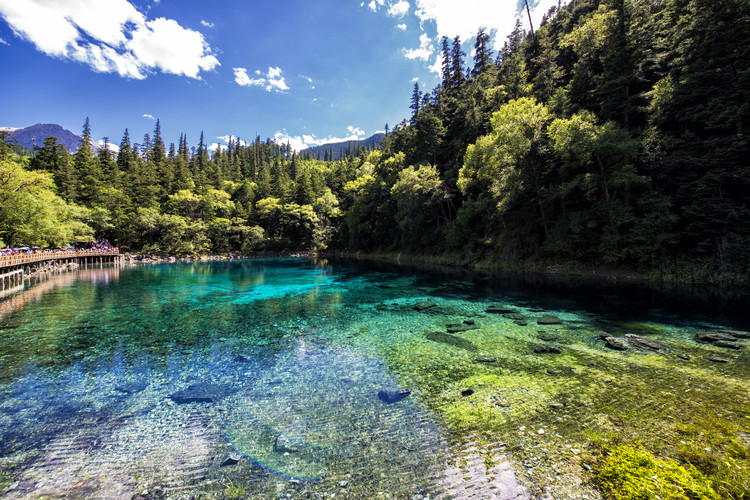 Art Print on Demand China 10MKm2 Collection - Beauty of Jiuzhaigou II