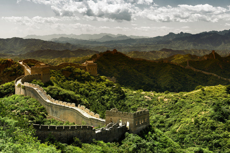 Art Print on Demand China 10MKm2 Collection - Great Wall of China II