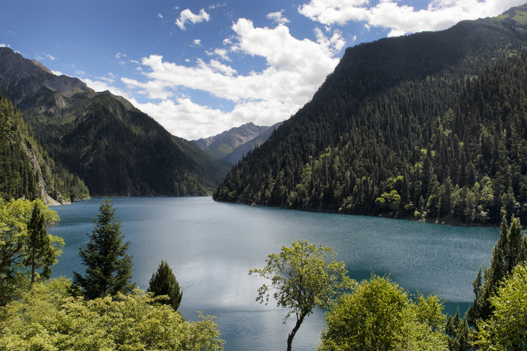 Art Print on Demand China 10MKm2 Collection - Jiuzhaigou Lake