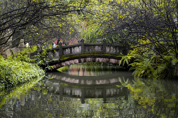 Art Print on Demand China 10MKm2 Collection - Romantic Bridge