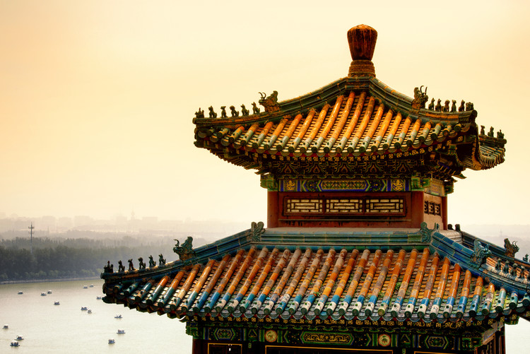 Art Print on Demand China 10MKm2 Collection - Summer Palace Architecture