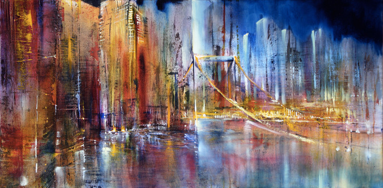 Art Print on Demand City view