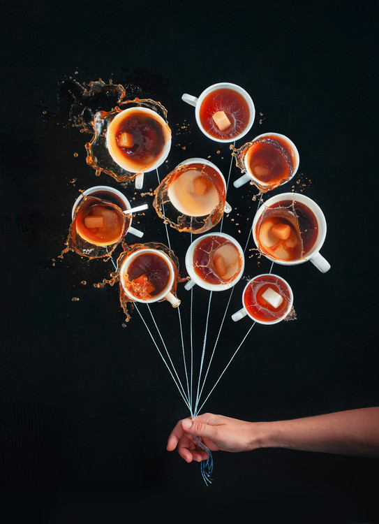 Art Print on Demand Coffee Balloons