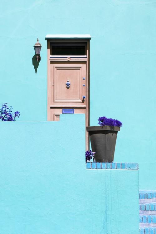 Art Print on Demand Colorful Houses