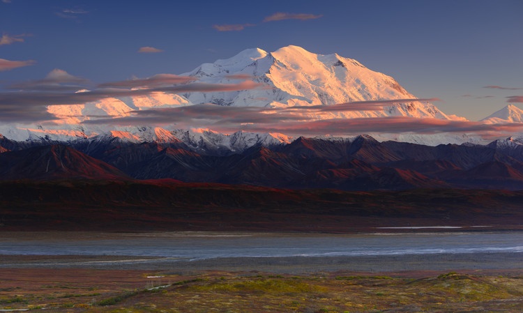 Art Print on Demand Denali National Park