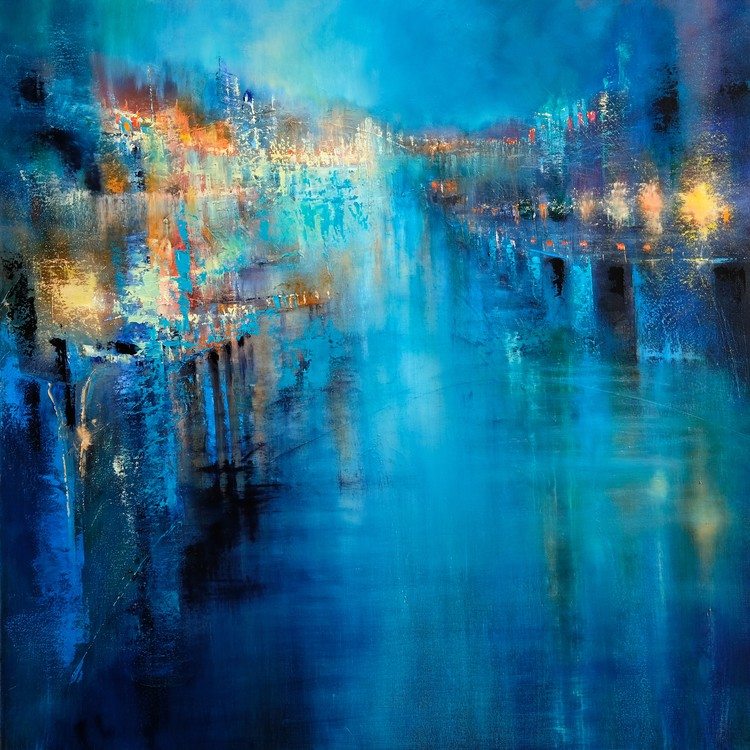 Art Print on Demand Flood lights