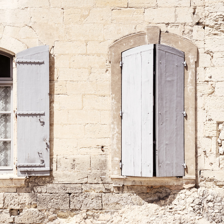 Art Print on Demand French Windows