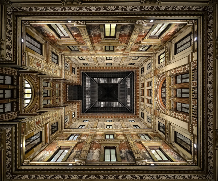 Art Print on Demand Galleria Sciarra