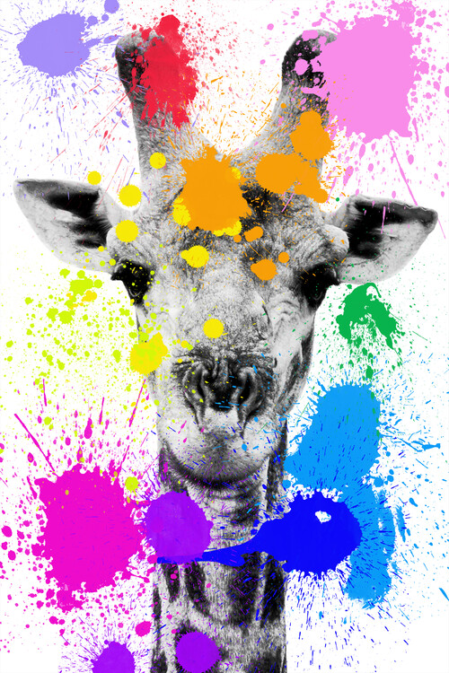 Art Print on Demand Giraffe