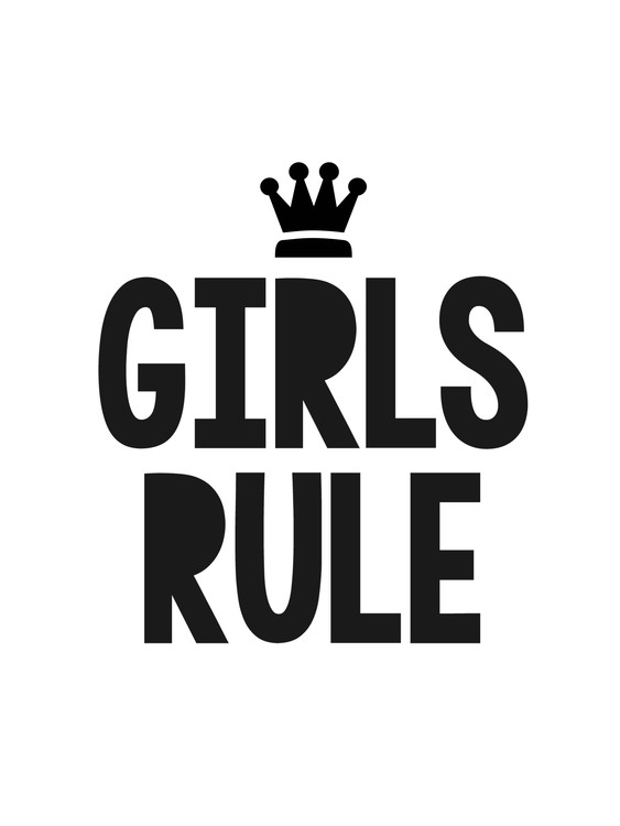 Art Print on Demand girlsrule