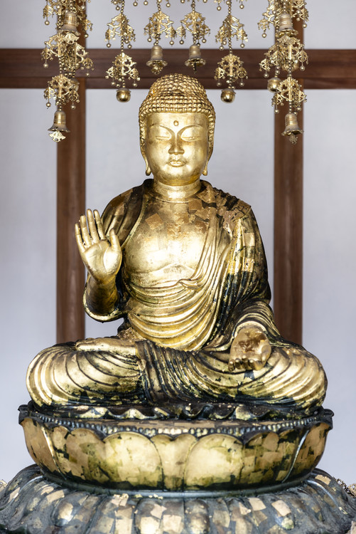 Art Print on Demand Golden Buddha
