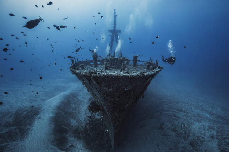 Art Print on Demand Hai Siang Wreck