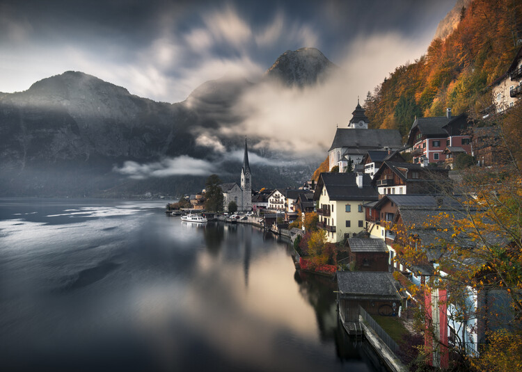 Art Print on Demand Hallstatt