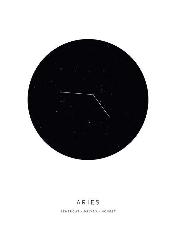 Art Print on Demand horoscopearies