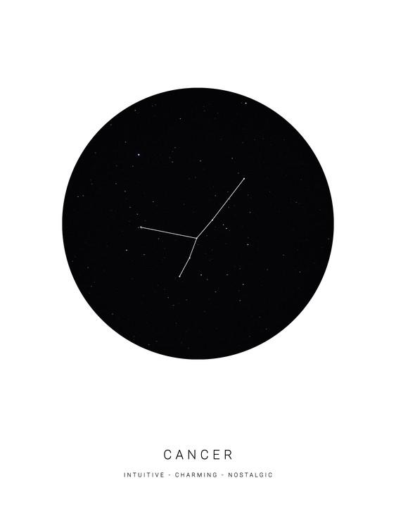 Art Print on Demand horoscopecancer