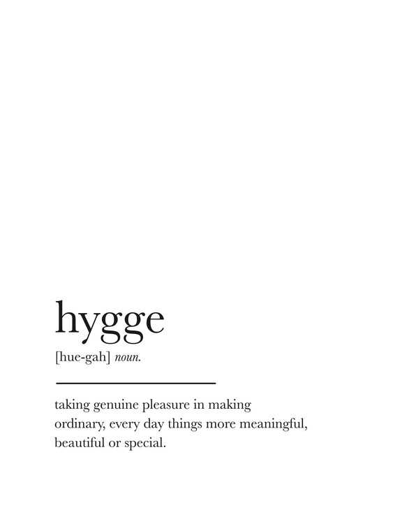 Art Print on Demand hygge