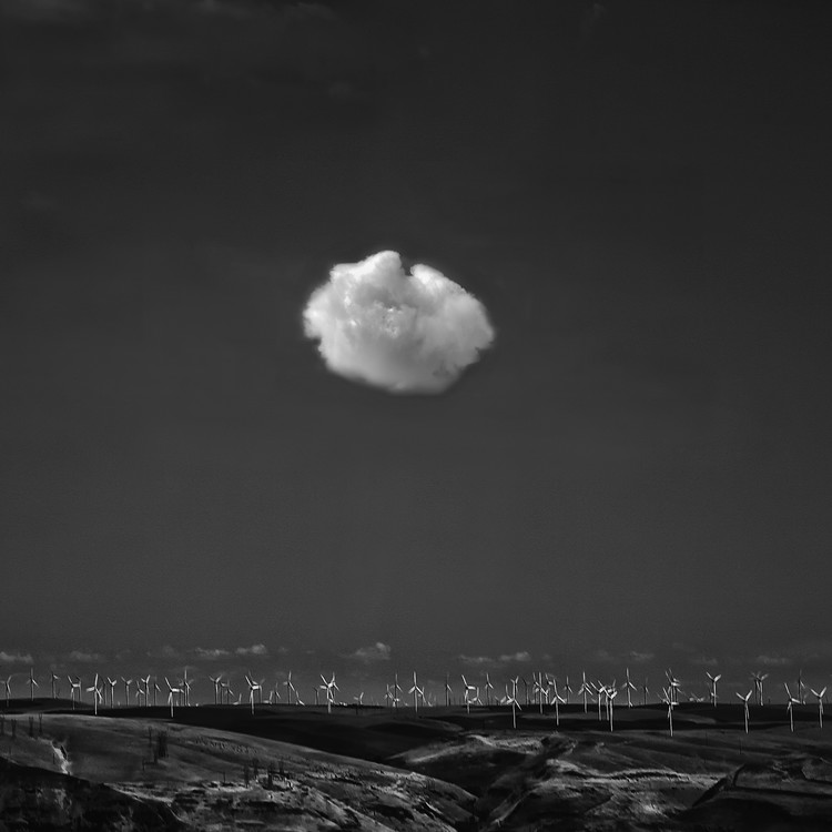 Art Print on Demand If I Were a Cloud