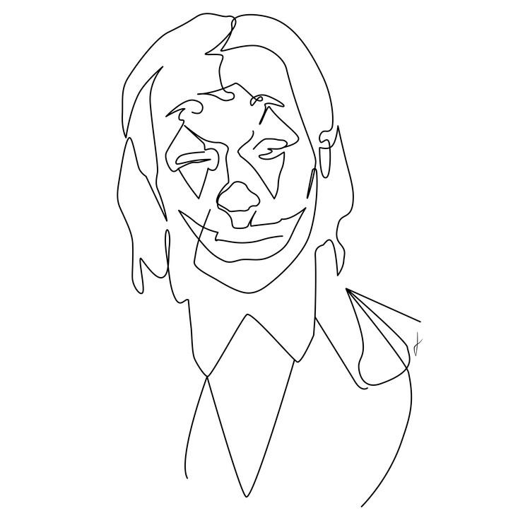 Art Print on Demand Joker